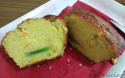 PLUM CAKE CON AROMA A ROSCÓN Mambo