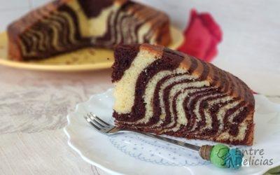 BIZCOCHO CEBRA O MARMOLADO (ZEBRA CAKE) Mambo