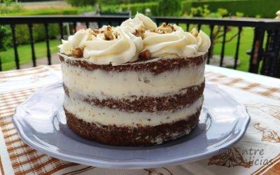 CARROT CAKE O TARTA DE ZANAHORIA Mambo